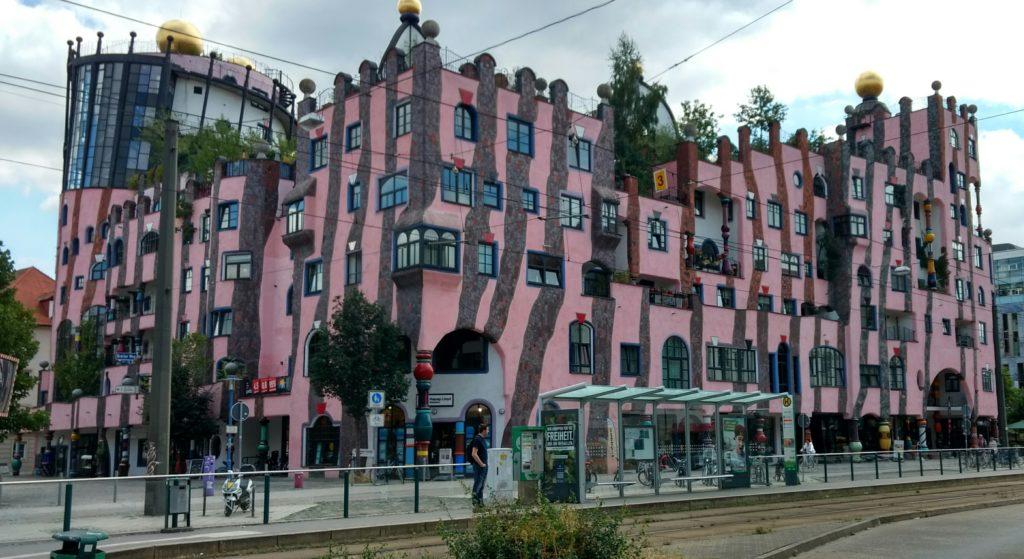 Hundertwasser-Haus in Magdeburg